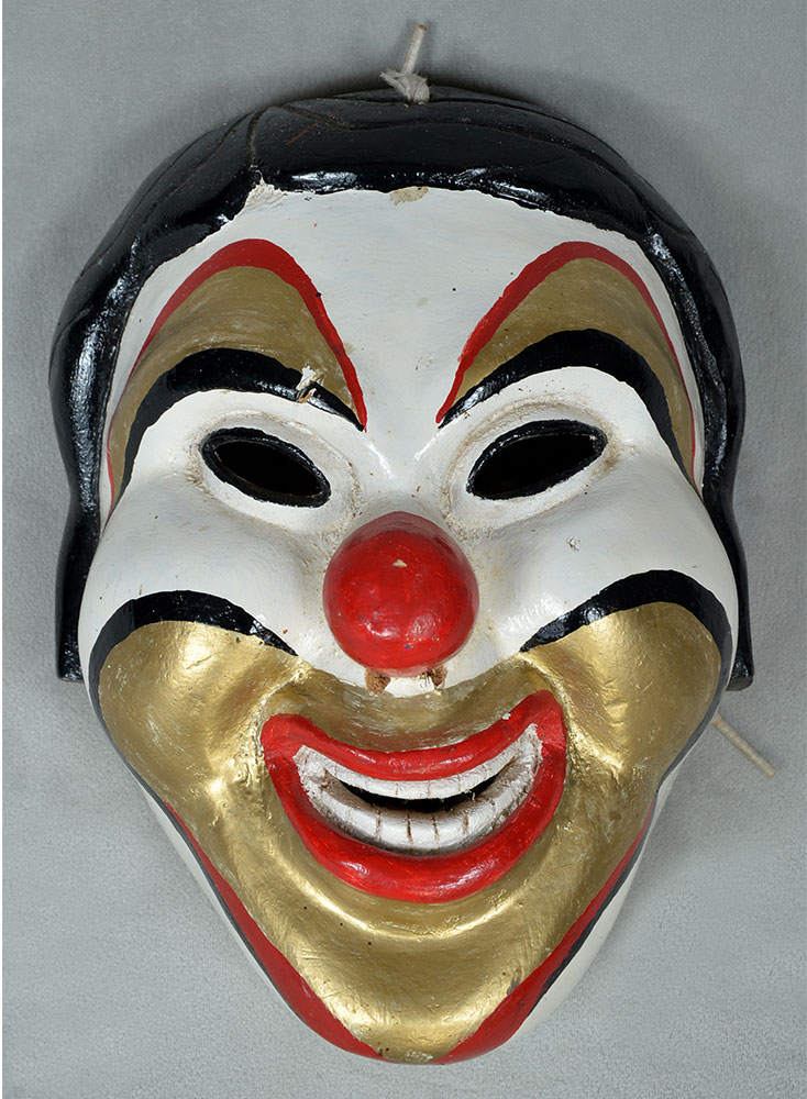 Clown mask from Veracruz