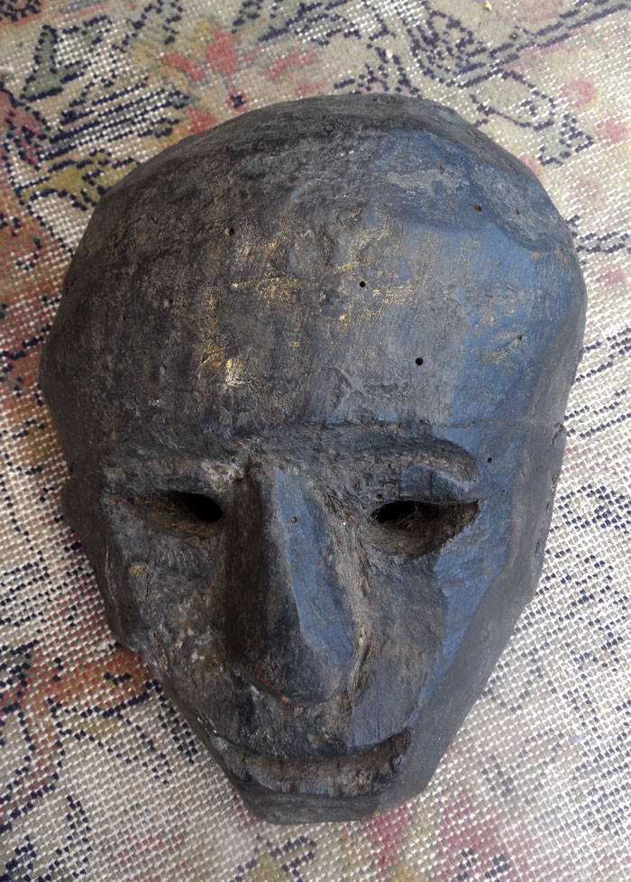 Another shaman's mask from the Highlands