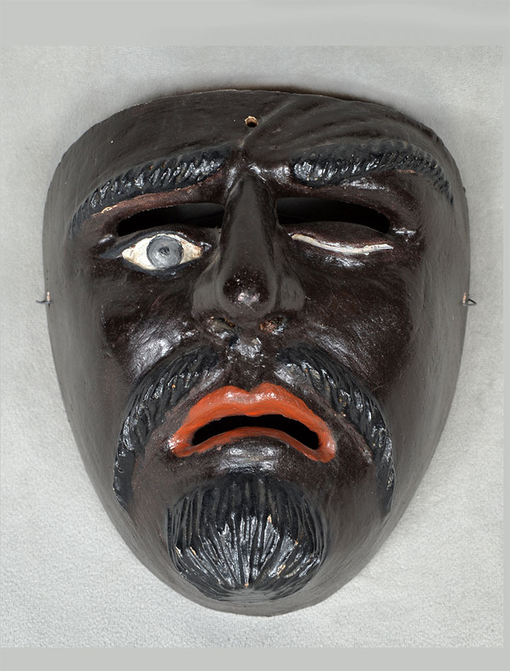 One-eyed, black-skinned Moor from Mexico