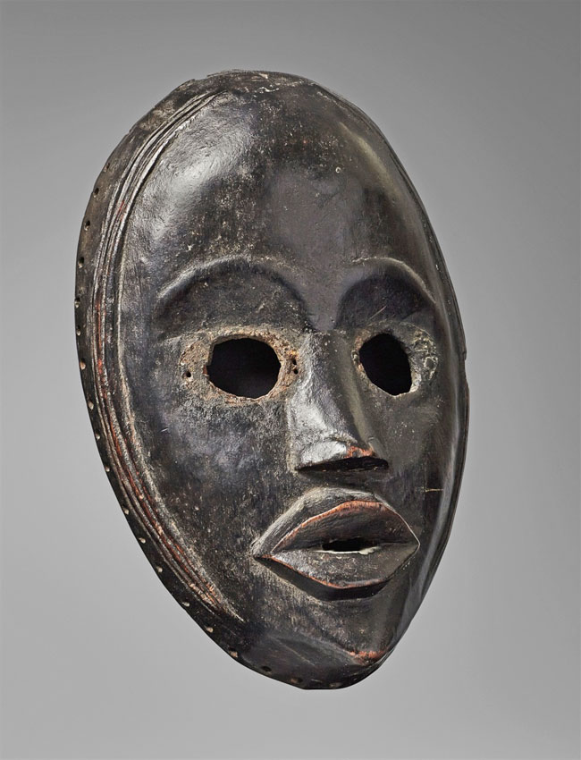 Dan racer mask from W. Africa