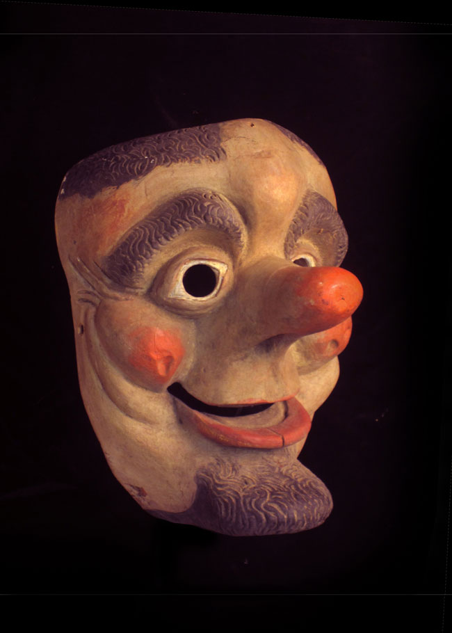Fasching mask from the German or Austrian Alps