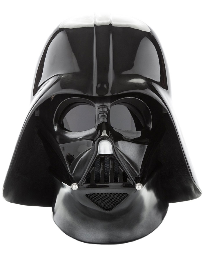 The Darth Vader mask for Halloween
