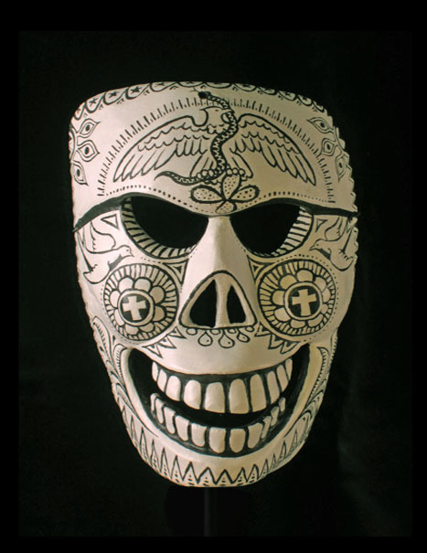 Day of the Dead masks from Mexico