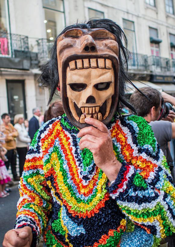 Old masquerade traditions in Portugal