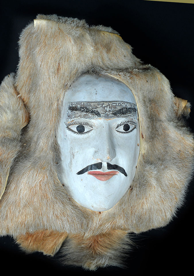 Holy Week mask from NW Mexico