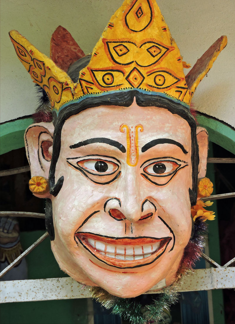 Mukaha mask from NE India