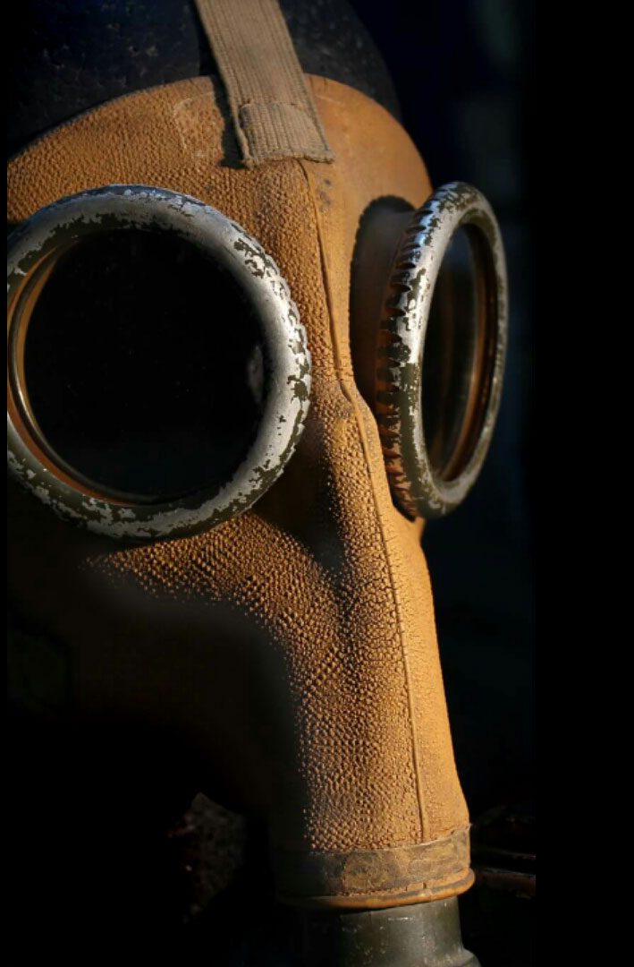 Argentinian gas mask