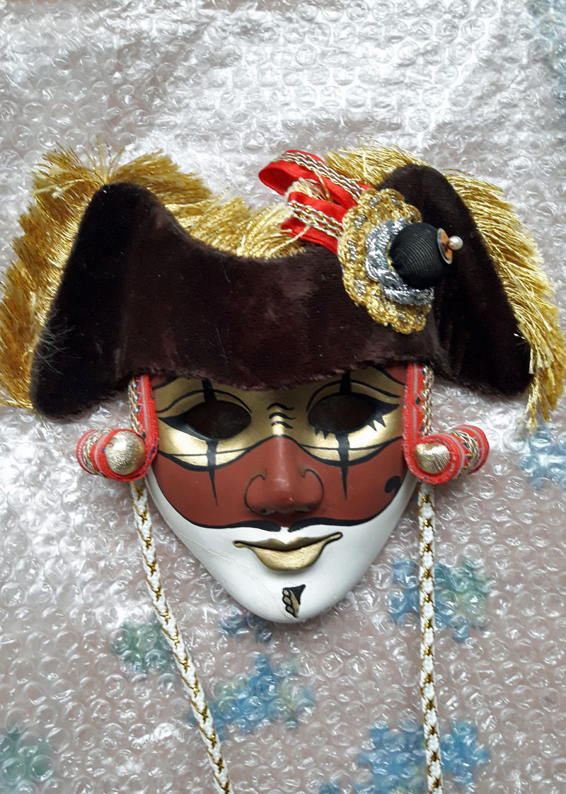 Classic Viennese carnival mask