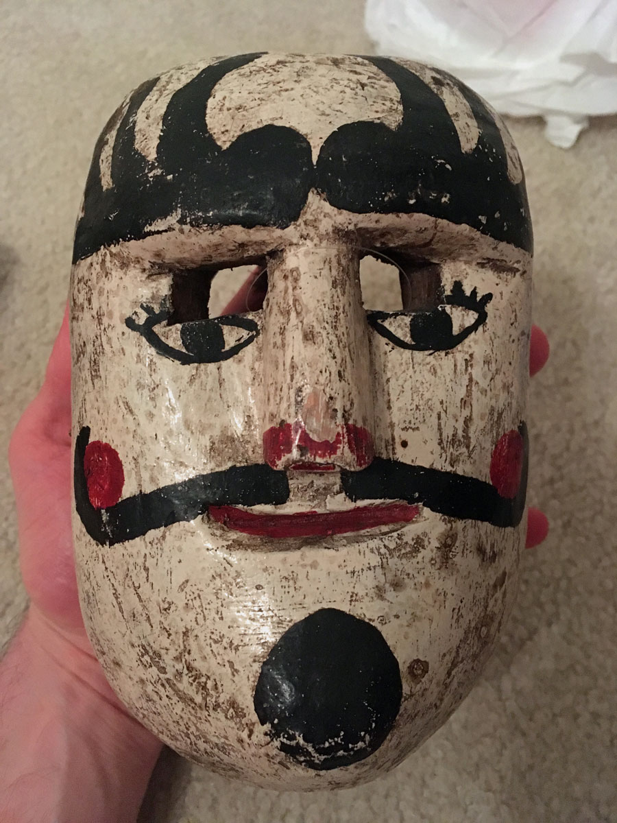 Repro of Patron mask from Guatemala