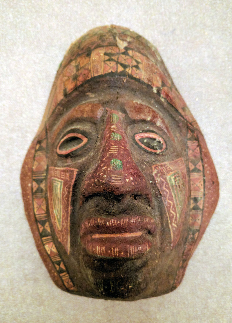 Precolonial funeral mask