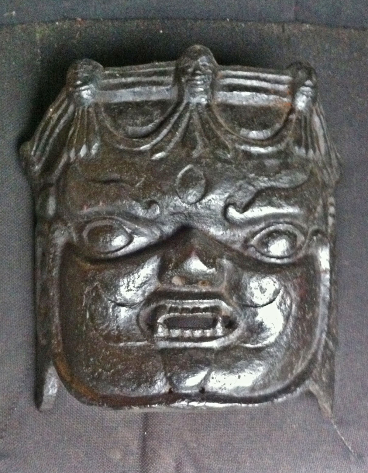 Himalayan mask of Mahakala