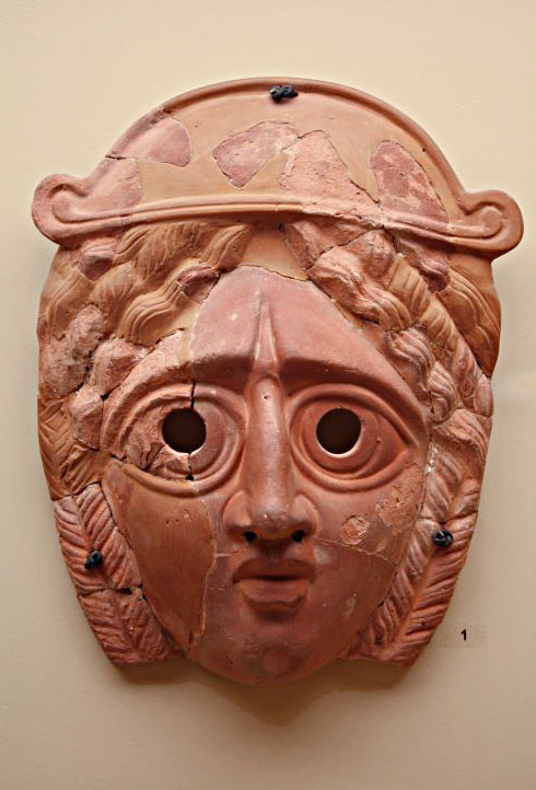 Ancient Greek theater mask