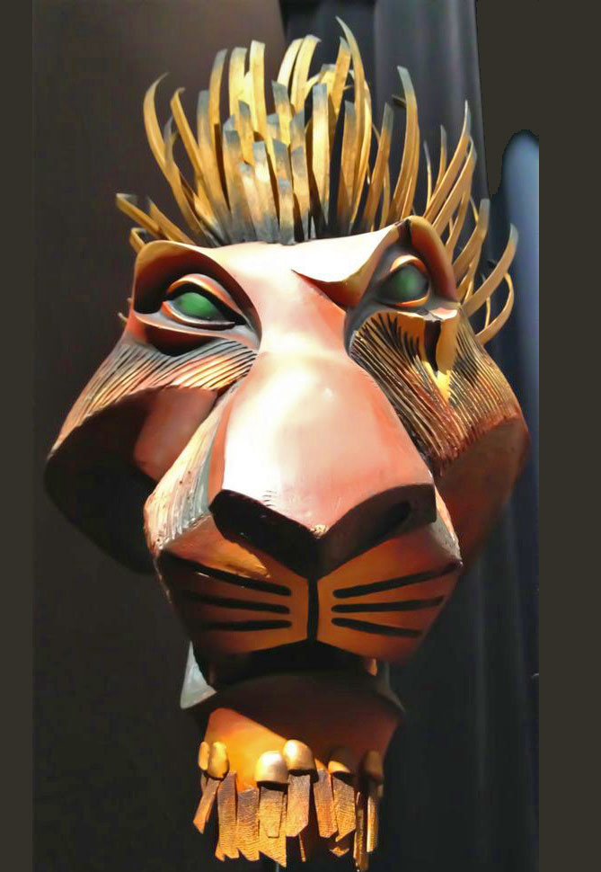 Scar's mask from The Lion King