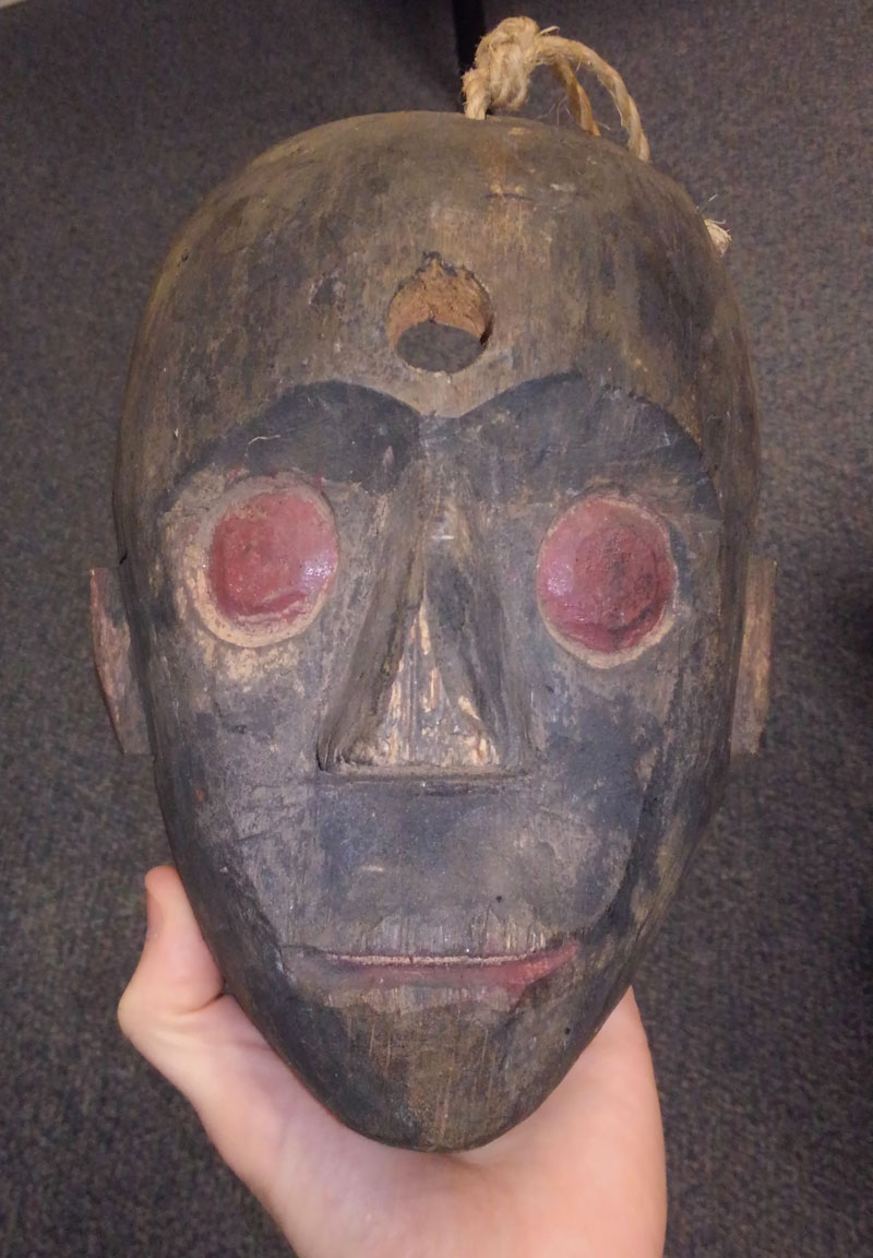 Unusual African mask