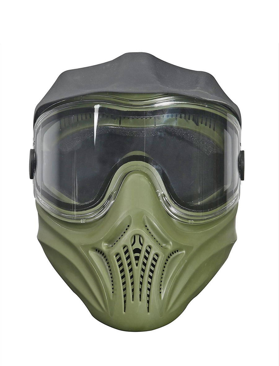 Protective mask for paintball