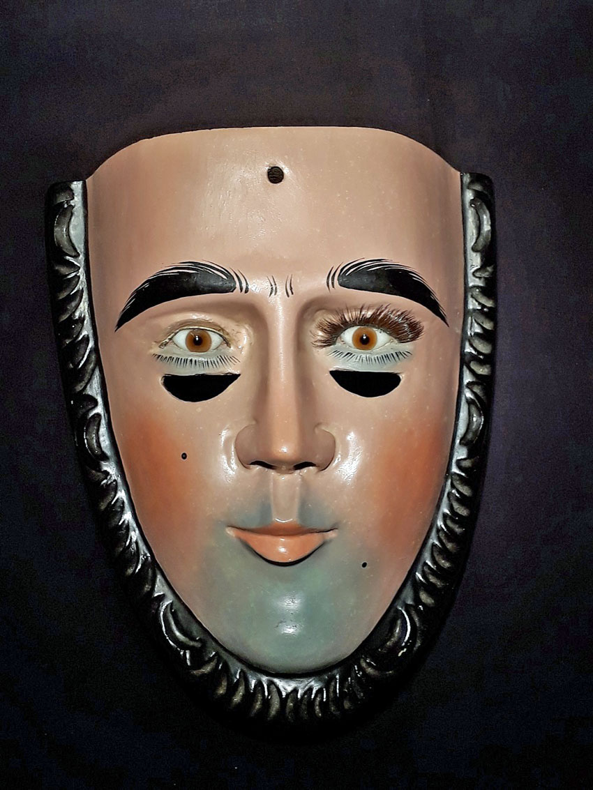 Parachico mask from Southern Mexico
