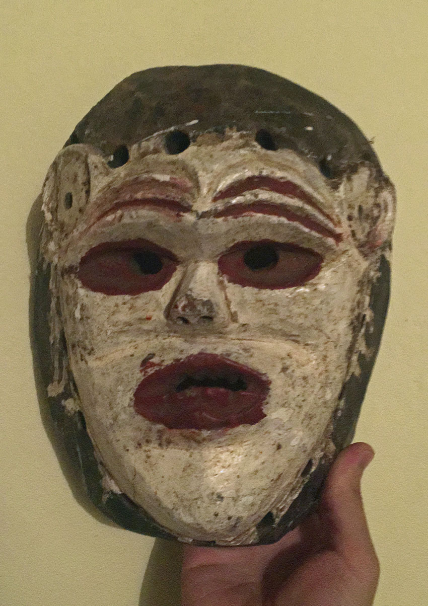 Chewa mask from Malawi, Africa