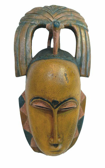 Bargain for classic African mask