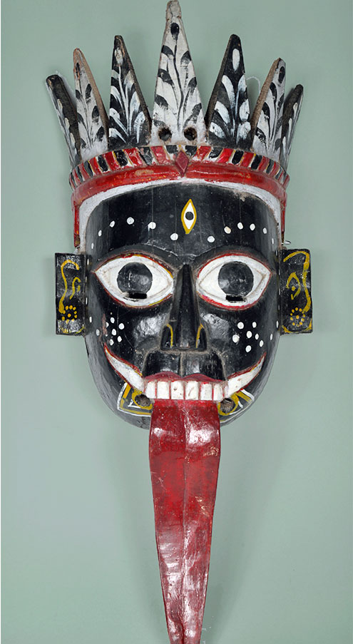 Kali masks from India