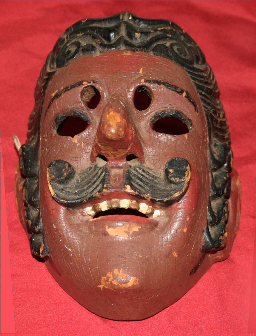 The Mexican Guatemalan mask