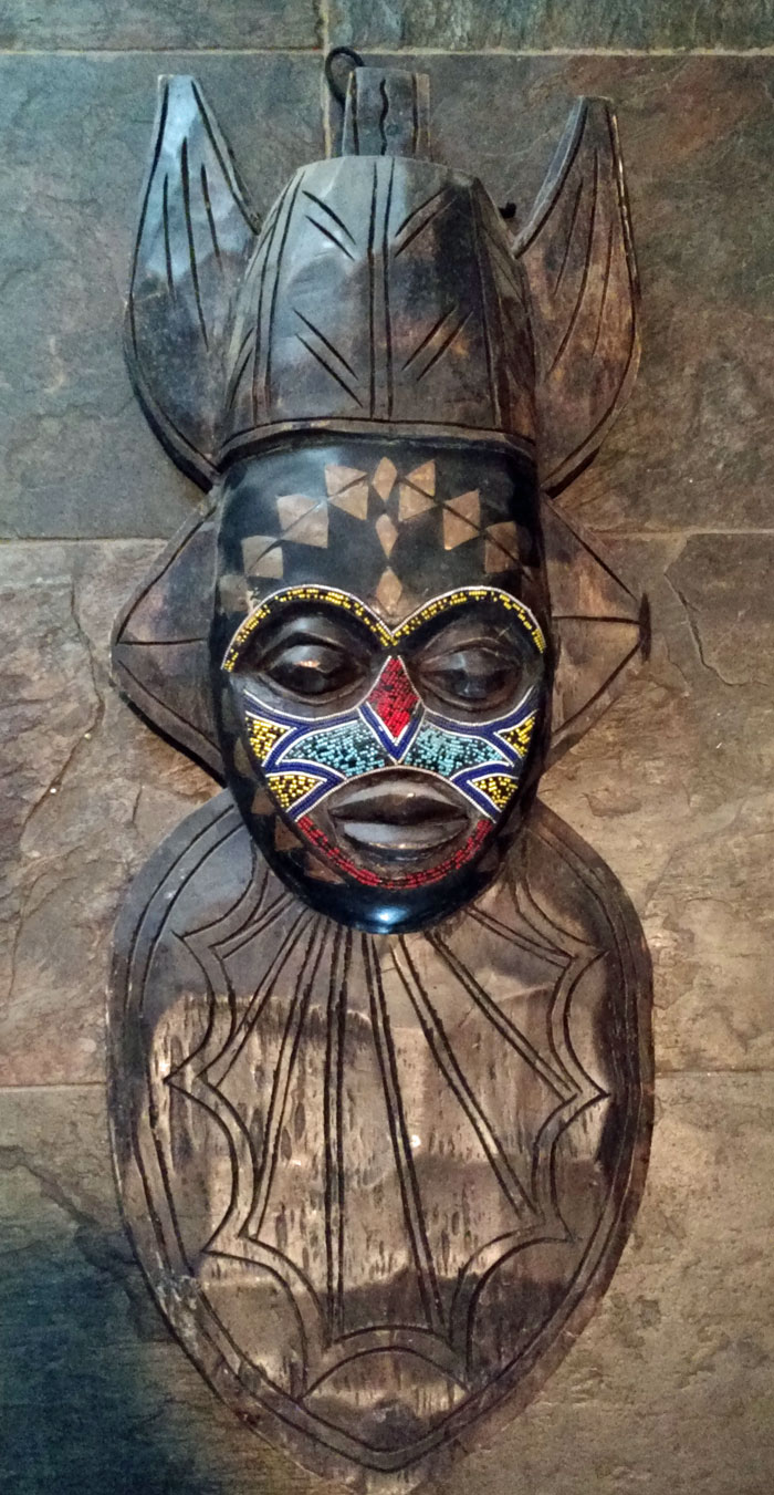 Real masks vs. decorative carvings