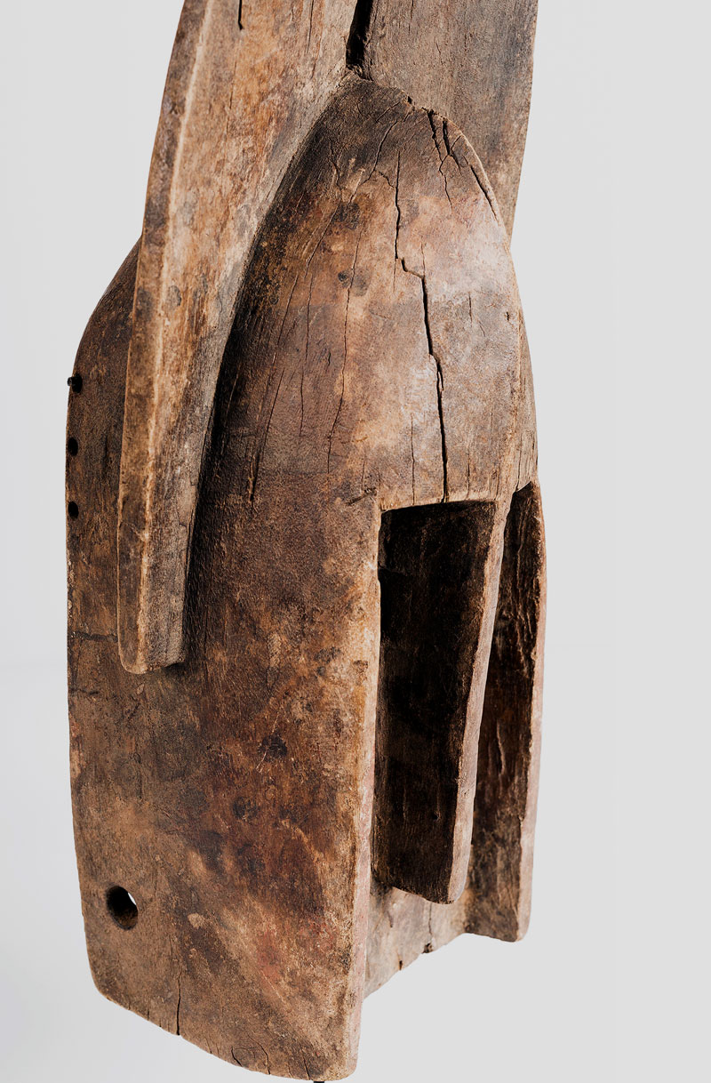 Old Dogon masks from Mali