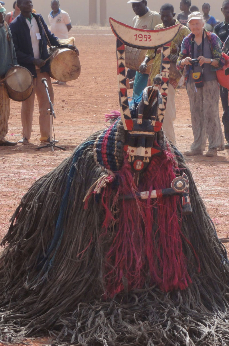 West African mask festival