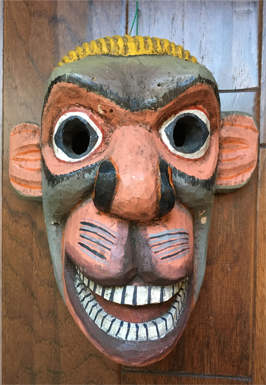 Ecuadorian monkey mask
