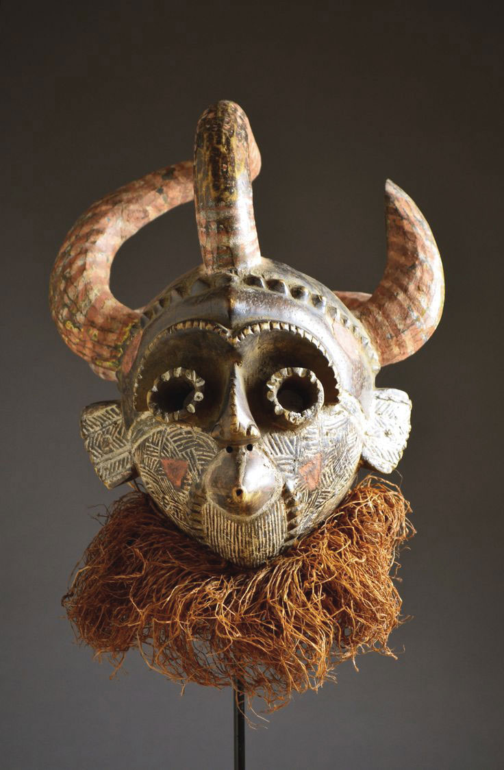 Unusual mask from the DRC