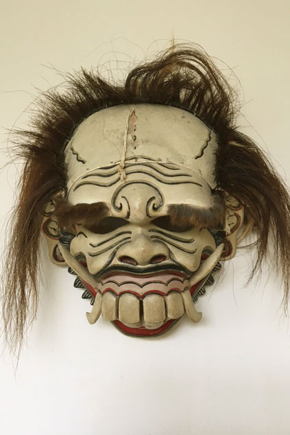 Cululuk, a witch from Bali