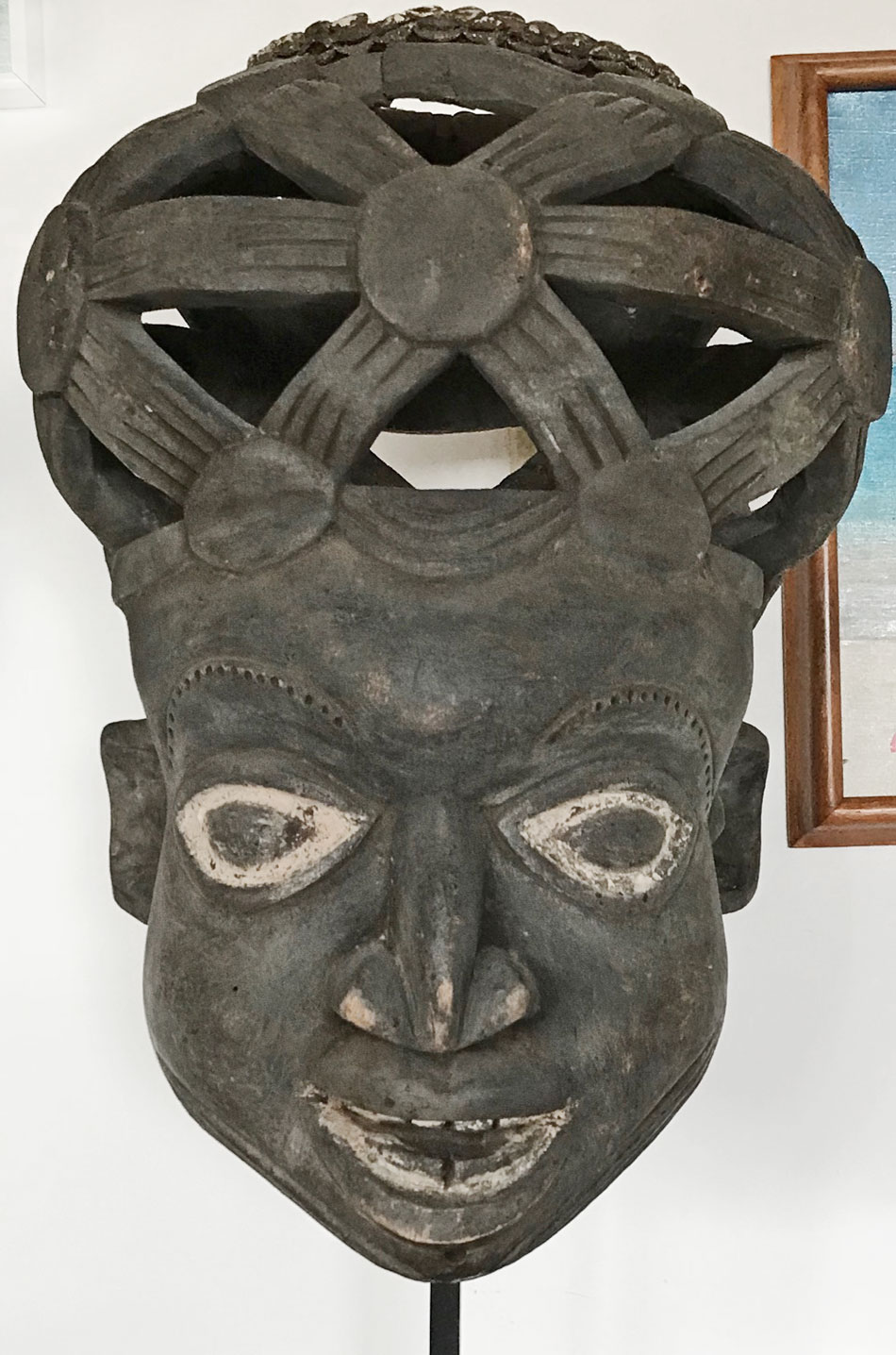 Bamun mask from the Grasslands