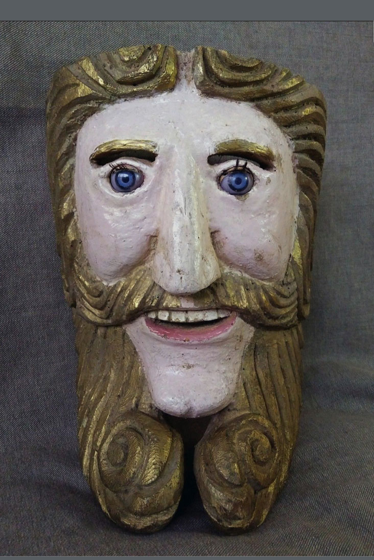 Hermit mask from Michoacan