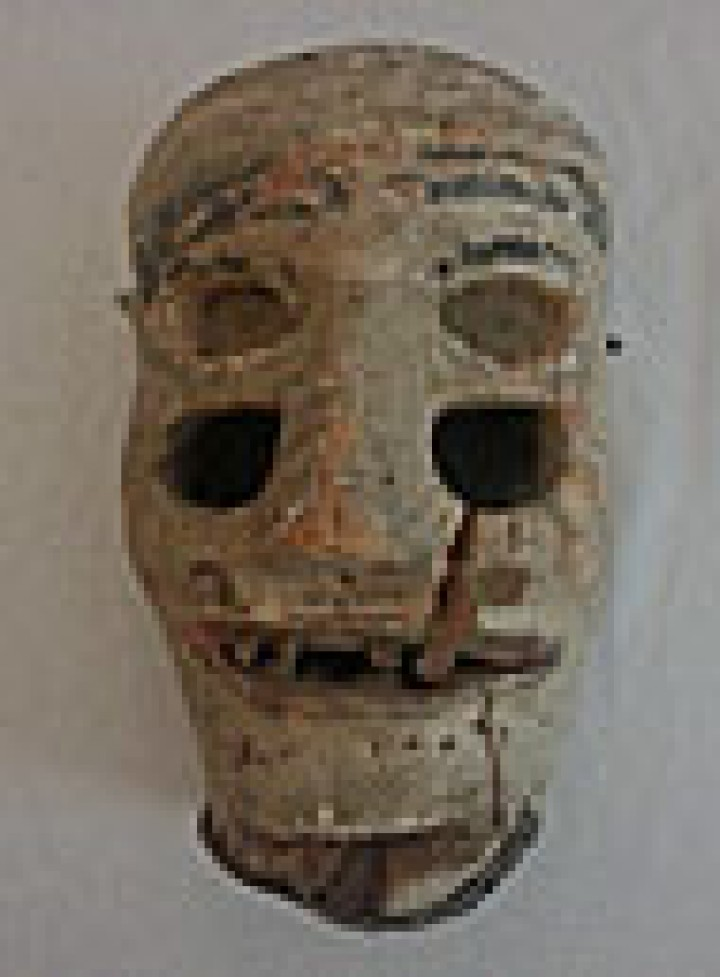 What about this very old mask I inherited?
