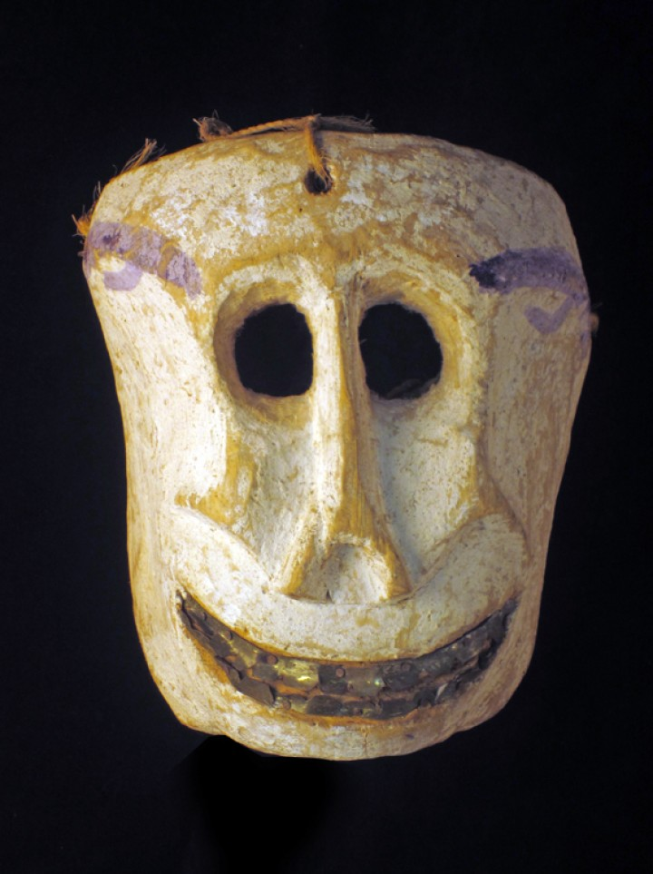 Old skull mask from Mexico