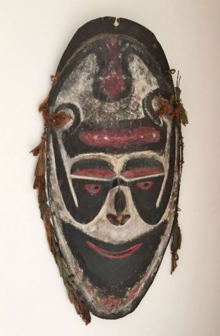 Colorful PNG mask