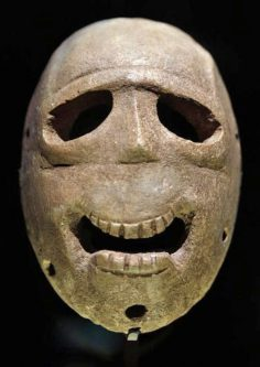World's oldest masks displayed