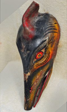 Leather mask from Mexico