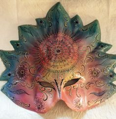Fancy Venetian carnival mask