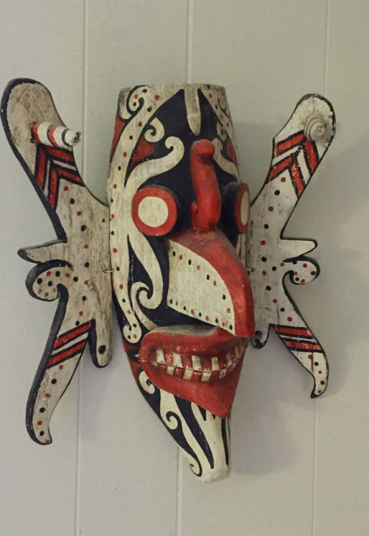 Hudoq mask from the Dayak of Borneo