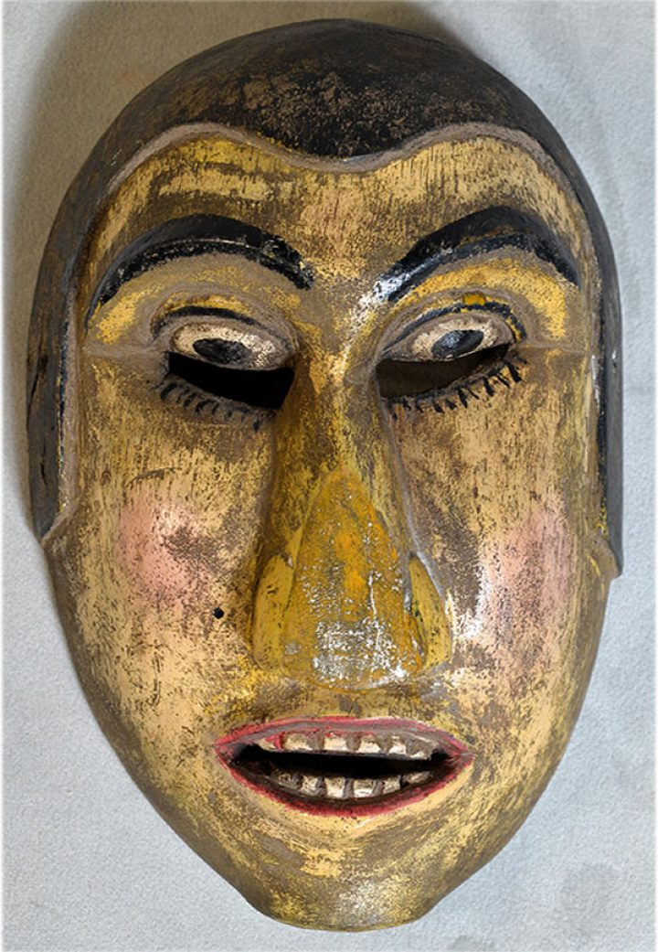 Real masks from Lombok