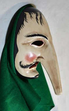 Long nose mask from Baden-Württemberg