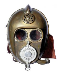 Early firefighters mask