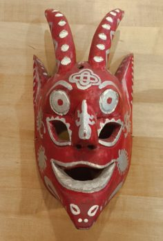 Unique Mexican Devil Mask