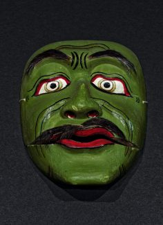Cheap Balinese tourist mask from 1960's
