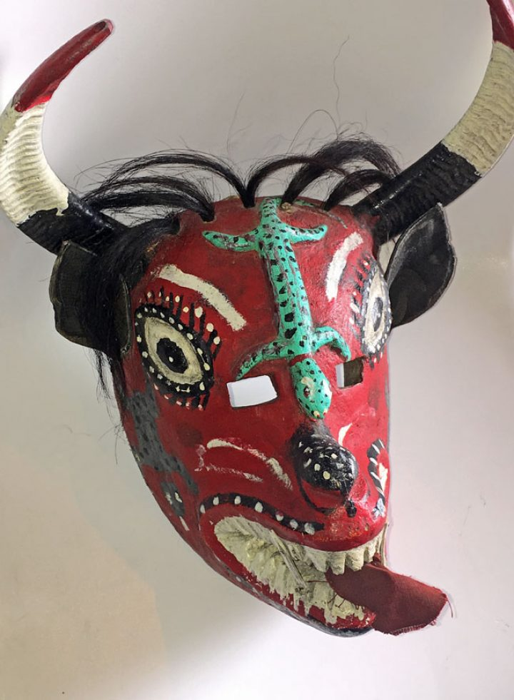 Another Mexican Devil mask