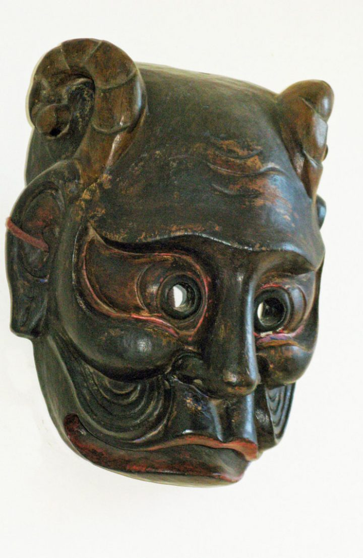 Demon mask from the Himalayas