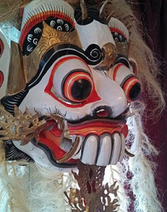 This mask was purchased in 1989 in Bali