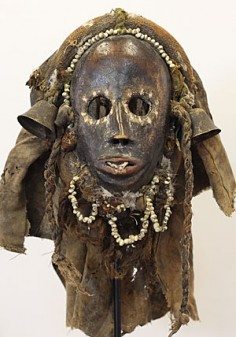 Famous mask in a strange size
