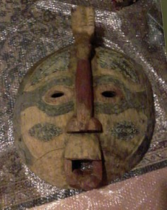 Old big round mask