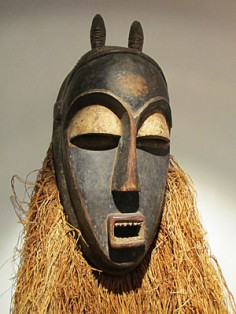 Beautiful mask from the Congo